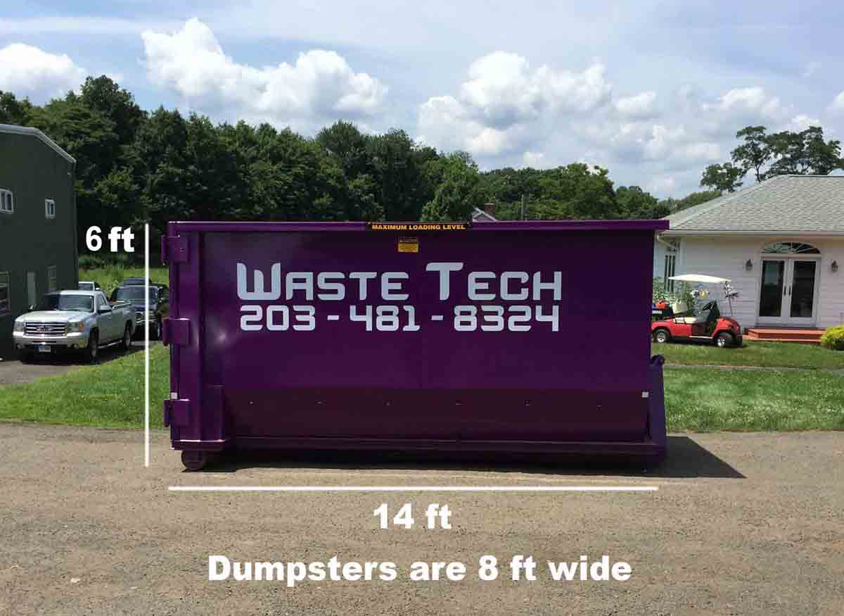 Waste Tech - 20 yard dumpster