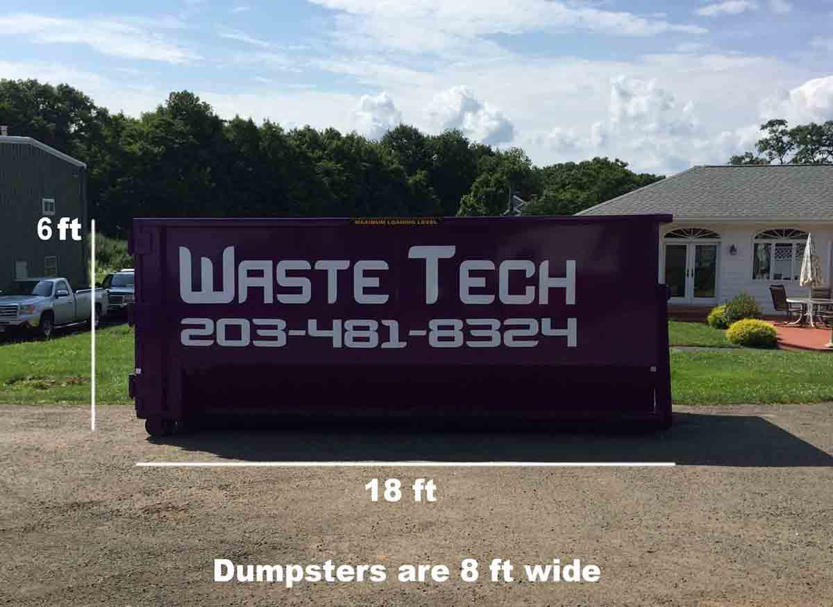 Waste Tech - 30 yard dumpster