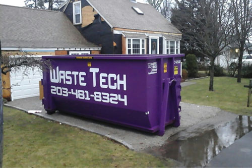 30 yard dumpster rental for house remodel in Guilford, CT